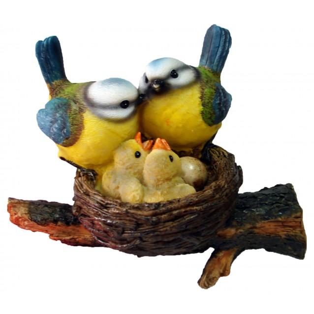 Скульптура «Птички в гнезде»
