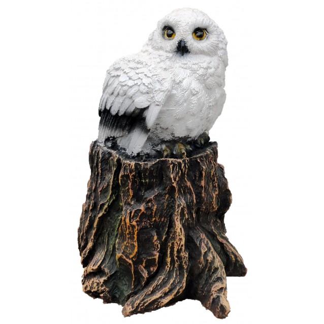 Скульптура «Сова на пеньке»