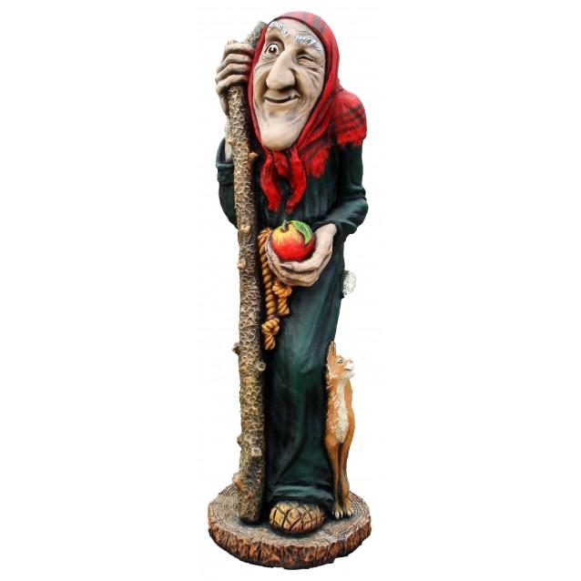 Скульптура «Баба Яга»