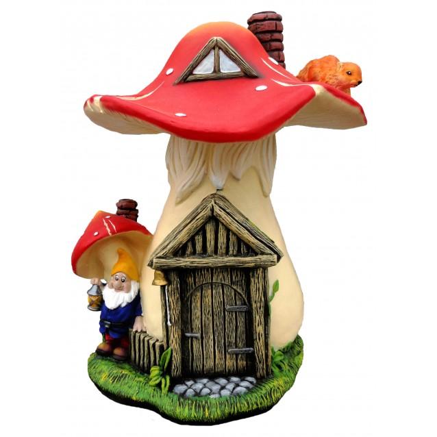 Садовая Фигурка «Гриб-домик»