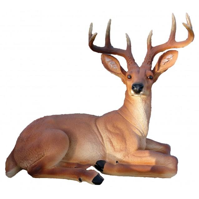 Скульптура «Олень» лёжа