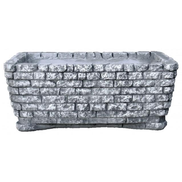 Ваза «Под камень» Прямоугольная