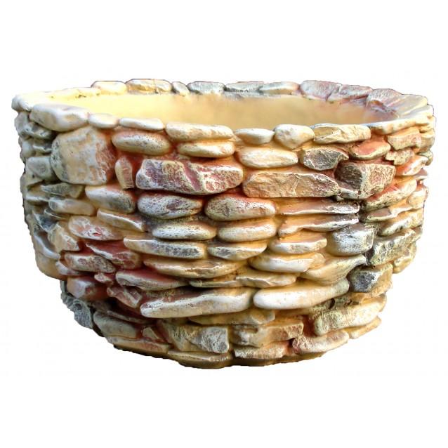 Ваза «Под камень» Круглая